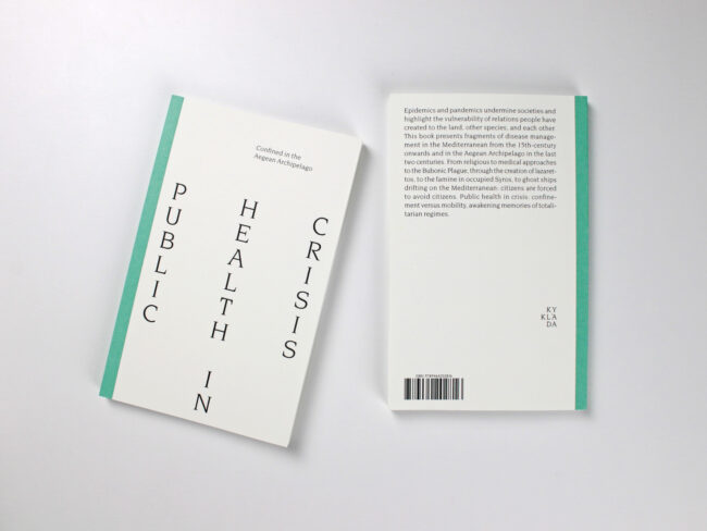 front and back cover of kyklàda.press book